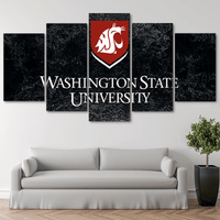 Five Piece Washington State Logo Painting