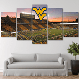 Five Piece West Virginia Painting