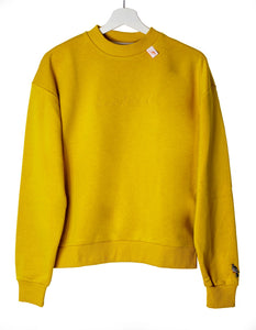 Monochrome Sweater Woman Yellow