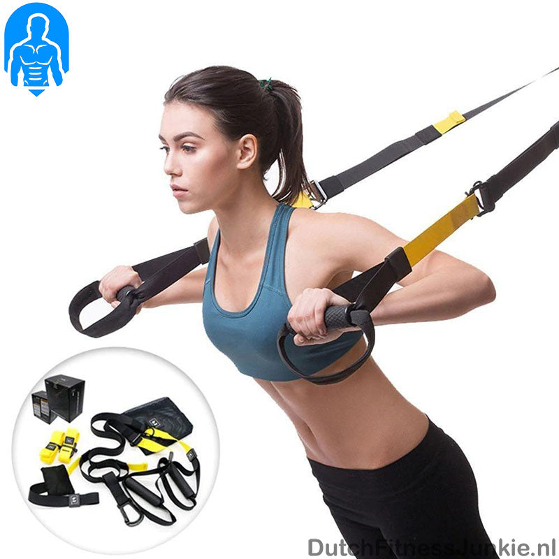 trx suspension band training, koop hier de complete set