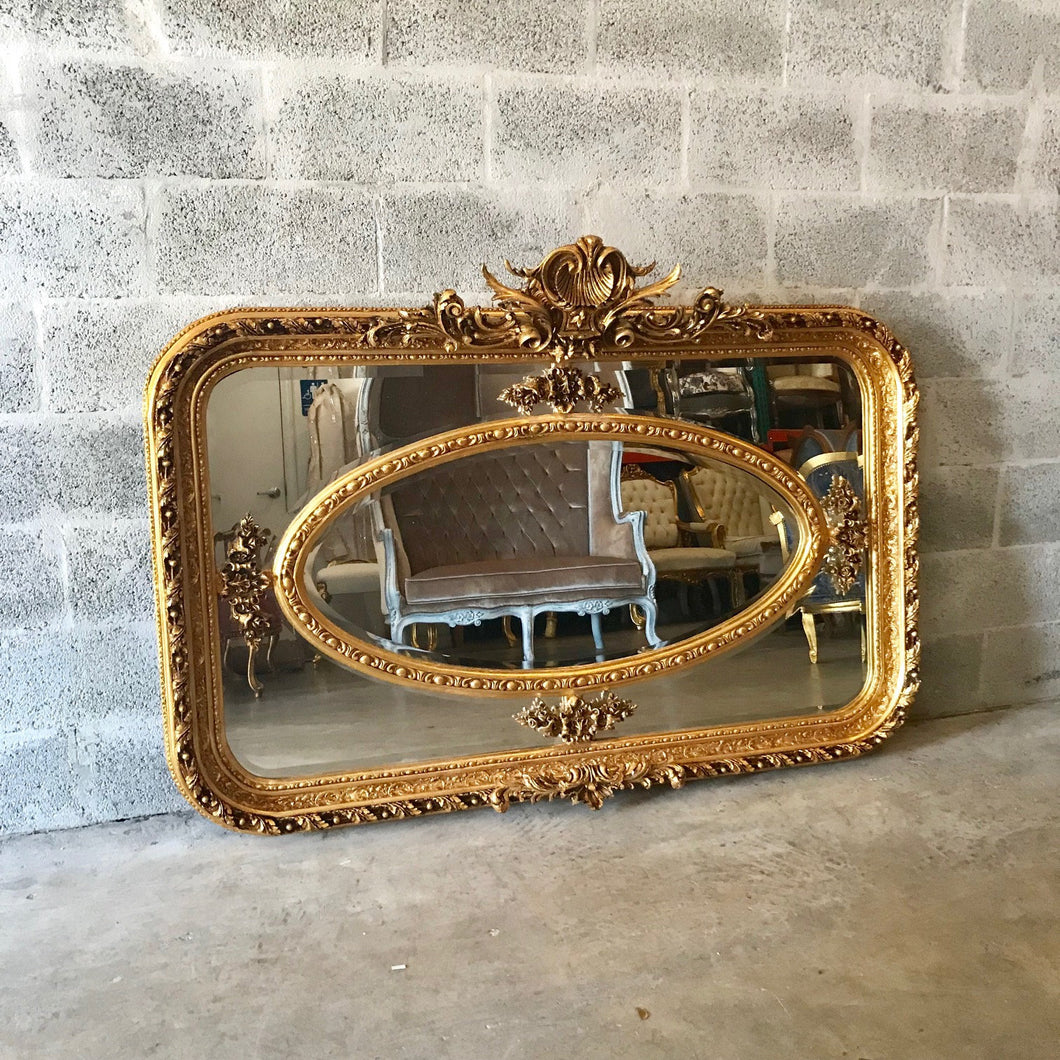 French Mirror *2 Available* Antique 61