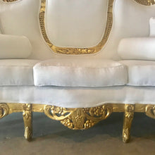 Load image into Gallery viewer, Baroque Sofa Throne Furniture Rococo Sofa French Furniture Throne Settee New Upholstery Interior Design *Fast Delivery