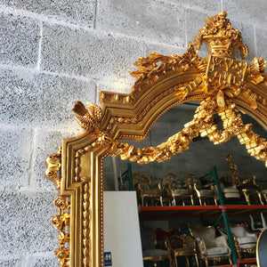 French Furniture French Mirror 7.8 Feet Tall Louis XVI Mirror French Floor Mirror Baroque Mirror Furniture Mirror Rococo
