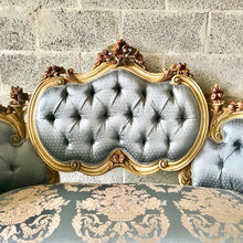 Load image into Gallery viewer, French Marquis French Sofa Corbeille Louis XVI Furniture French Settee Cream Beige Frame Marquis French Marquise Settee Interior Design