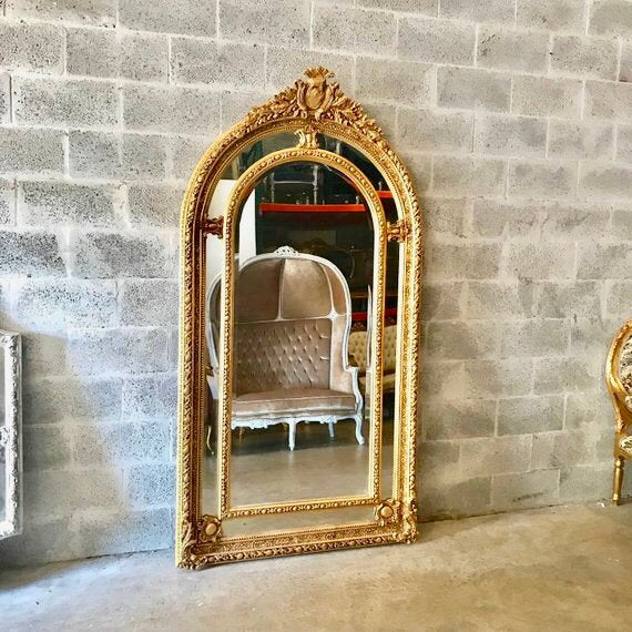 French Mirror 7 Feet Large Mirror 84