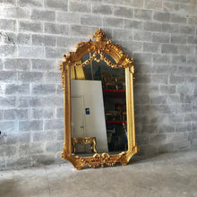 Load image into Gallery viewer, French Furniture French Mirror 7.8 Feet Tall Louis XVI Mirror French Floor Mirror Baroque Mirror Furniture Mirror Rococo