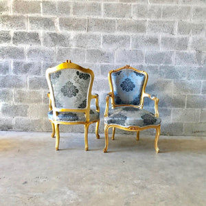 French Furniture French Vintage Chair 5 Pieces Availa Antique Furniture New Upholstery Interior Design Baroque Furniture Rococo French Chair