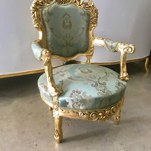 Baroque Chair Rococo Chair *2 Available* French Chair French Furniture New Upholstery Baroque Furniture Vintage Chair Interior Design