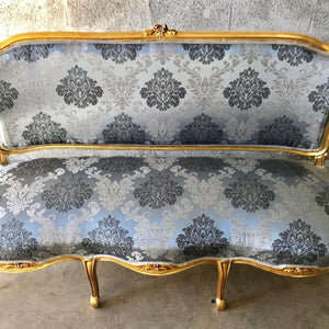 French Furniture French Vintage Chair *5 Piece Set* Antique Furniture New Upholstery Interior Design Baroque Furniture Rococo French Chair