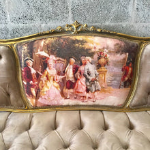 Load image into Gallery viewer, French Furniture French Settee Vintage Sofa Antique Furniture New Upholstery Interior Design Baroque Furniture Rococo French Chair