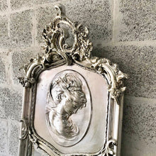 Load image into Gallery viewer, Baroque Mirror Antique Mirror Rococo Silver Leaf French Mirror Floor Woman Face Mirror Interior Design *2 Available*