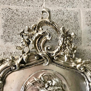 Baroque Mirror Antique Mirror Rococo Silver Leaf French Mirror Floor Woman Face Mirror Interior Design *2 Available*