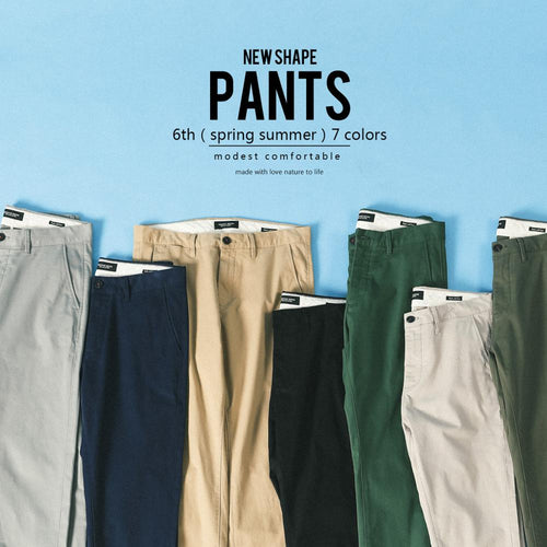 SIMWOOD Cotton Slim Fit Chinos