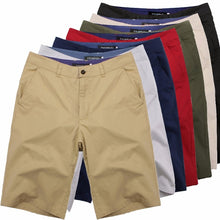 Load image into Gallery viewer, Cotton Knee Length chinos shorts