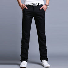 Load image into Gallery viewer, Business Casual Pants Cotton Slim Straight Trousers