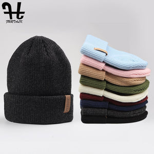 FURTALK Wool Knit Beanie