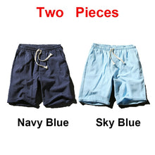 Load image into Gallery viewer, Sinicism Colorful Cotton Linen Summer Shorts