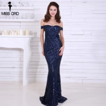 Load image into Gallery viewer, Missord 2019 Sexy bra party dress sequin maxi dress FT4912