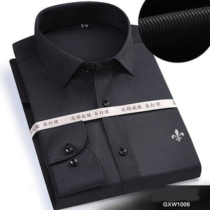 Dudalina Long Sleeved Solid shirt Slim Fit