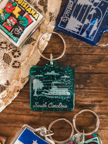 South Carolina Keychain