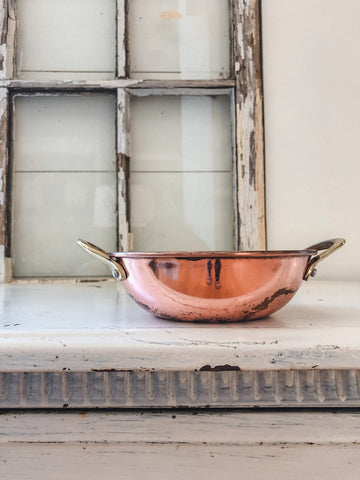 Rosy Copper Bowl