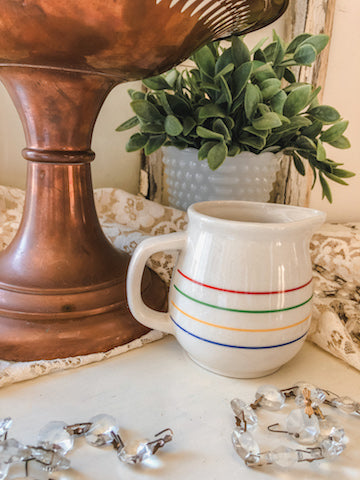 Colorful Stripe Creamer