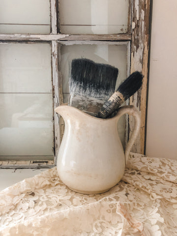 Old Paint Brushes (Set of 2)