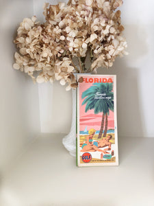 Vintage 1950's-1960's Florida Map/Brochure