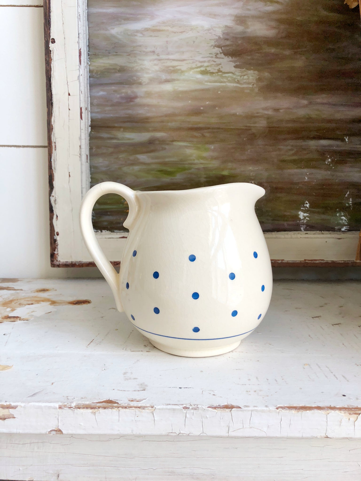 Vintage Poke-A-Dot Pitcher