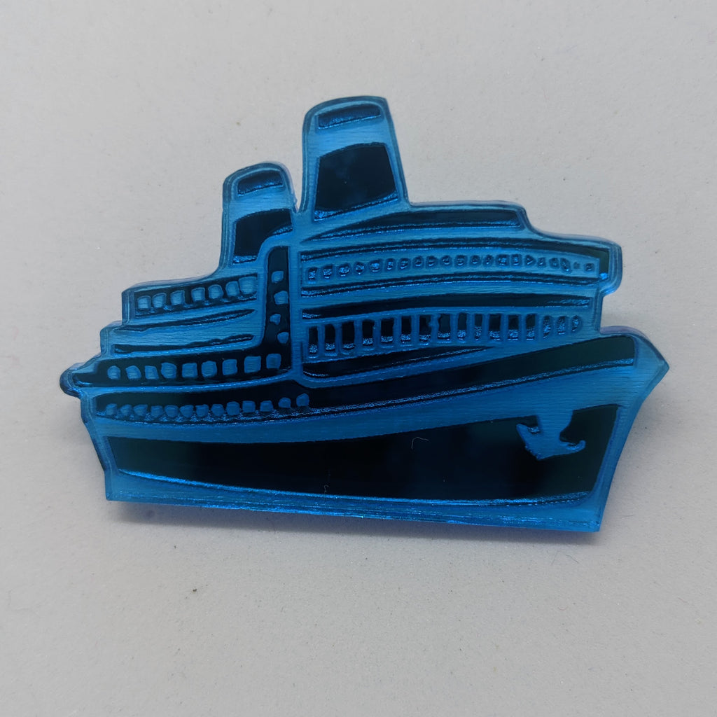 Im on a Boat Brooch