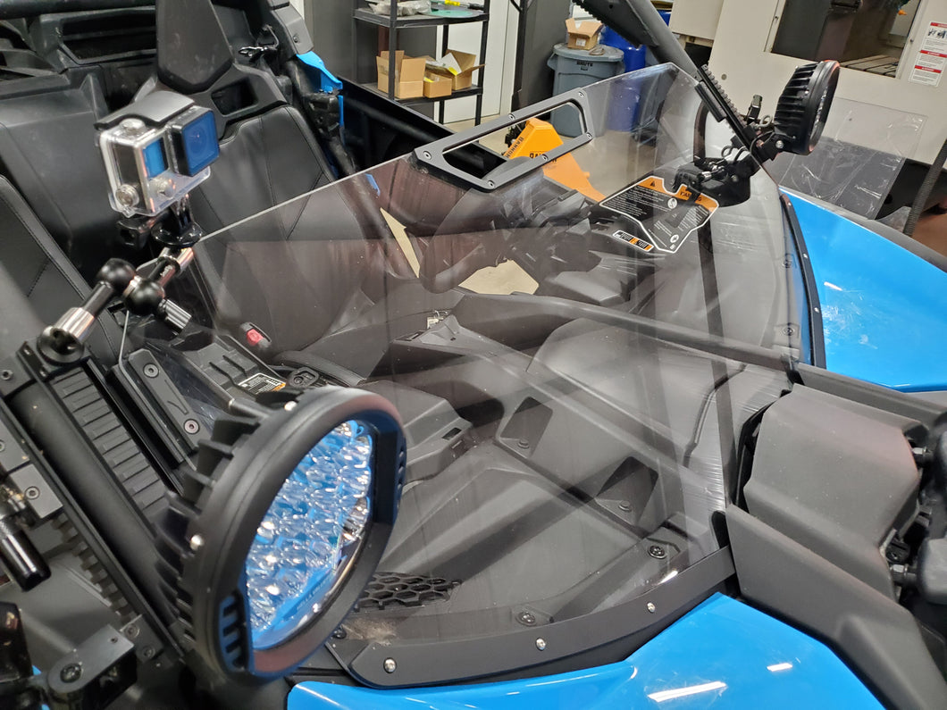 Can Am X3 Adjustable Half Windshield