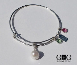 Bangle: Pearl