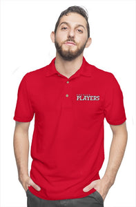 Premier Players embroidered logo polo