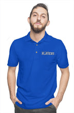 Premier Players embroidered logo polo - RB