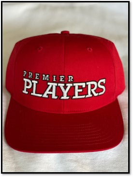 Premier Players Hat in Red