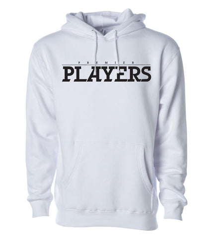 Premier Players White Hoodie