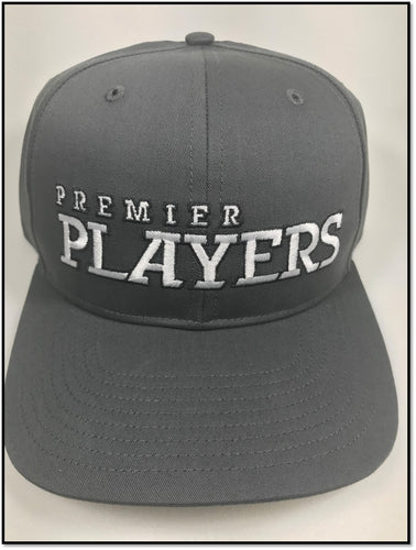 Premier Players Hat in Charcoal Gray