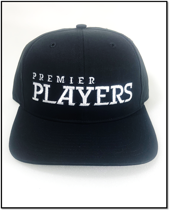 Premier Players Hat in Black