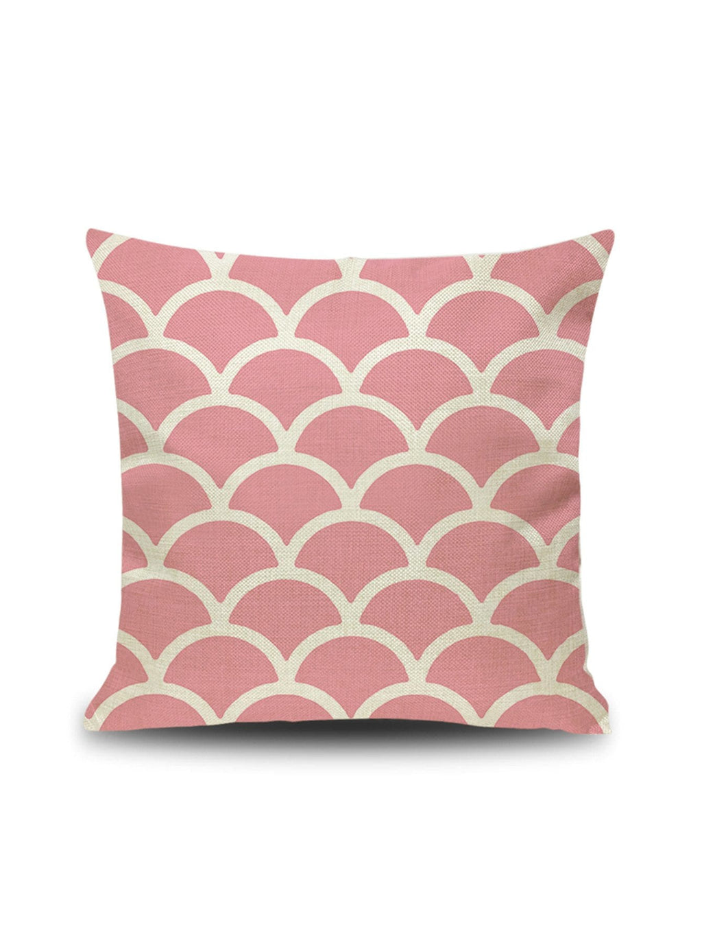 Scale Pattern Cushion Cover