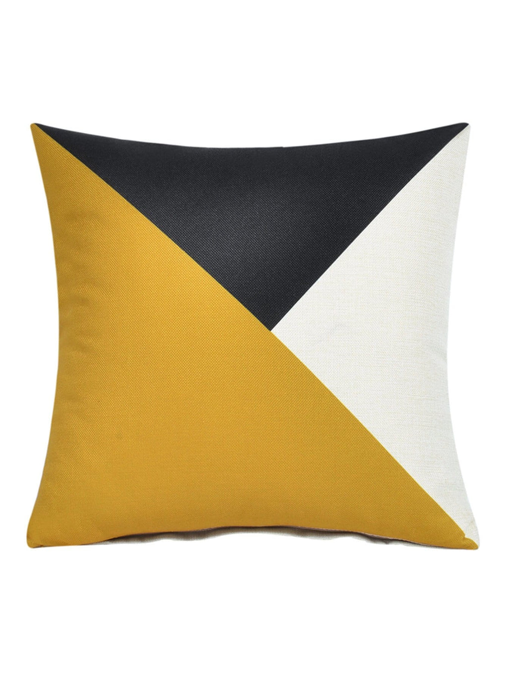 Color Block Geometric Pillowcase