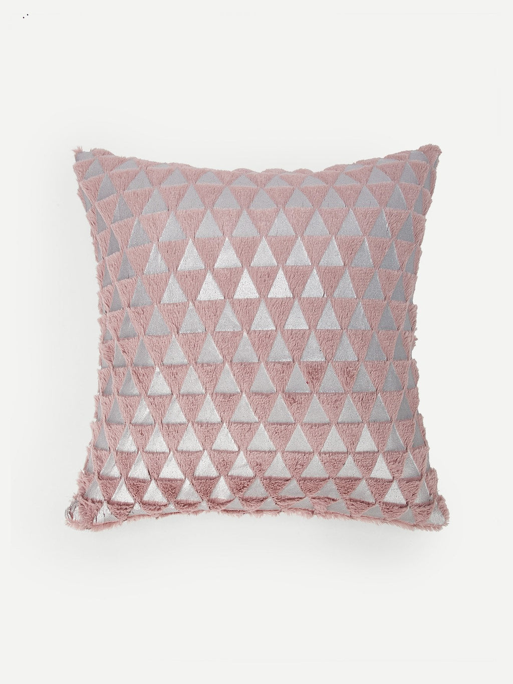 Geometric Pink Print Pillowcase