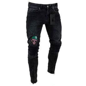 Men Stylish Ripped Jeans