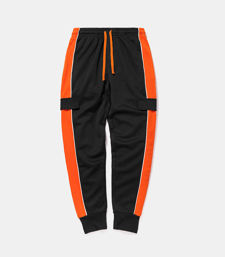 Orange Side Retro Trousers