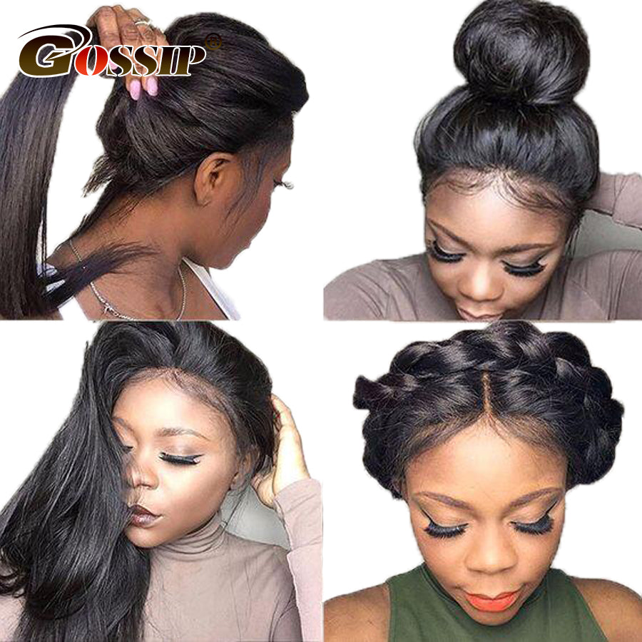 Gossip Hair Lace Front Wig Lace Front Human Hair Wigs For Black Women Brazilian Straight Hair Wigs Human Hair Lace Front Wigs