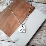 Wild And Free Heart Shaped Necklace