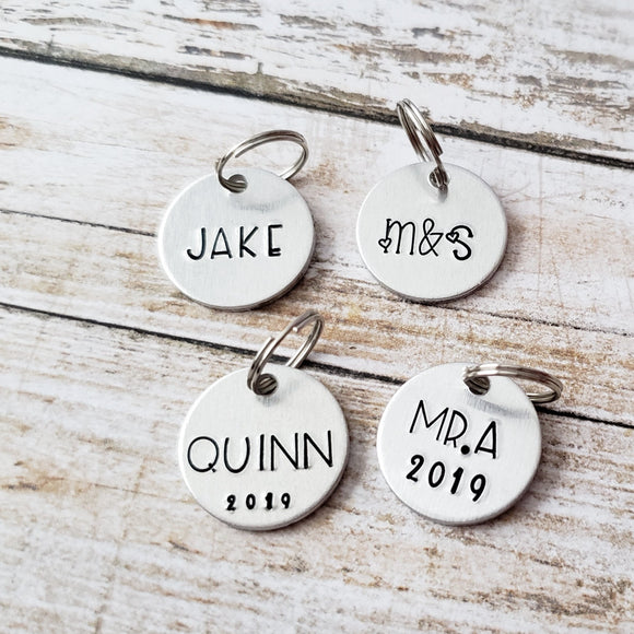 Add On - Personalized Charm for Keychains