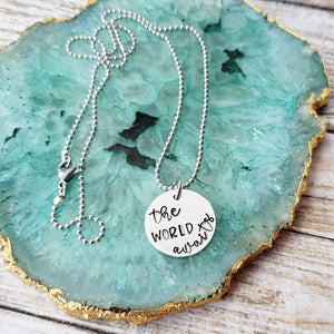 The World Awaits Necklace