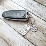 I'm So Fucking Proud Of You Keychain