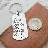 Keychain for School Bus Driver