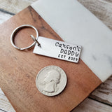 Customizable Keychain for Dad